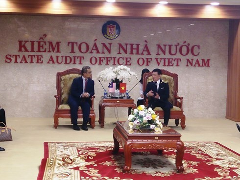 Dua Badan Pemeriksaan Keuangan Negara Vietnam dan Malaysia berbagi pengalaman mengadakan ASOSAI - ảnh 1