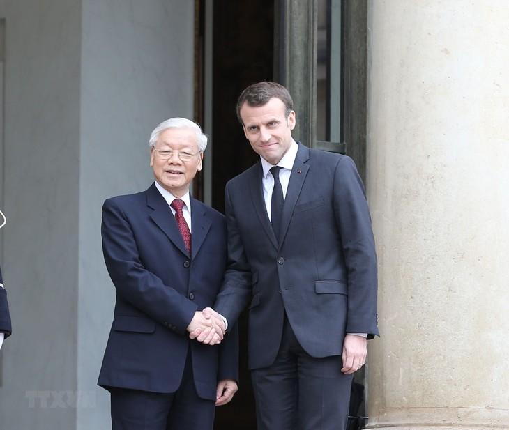 Pemimpin Vietnam dan Perancis menyepakati banyak isi kerjasama penting - ảnh 1