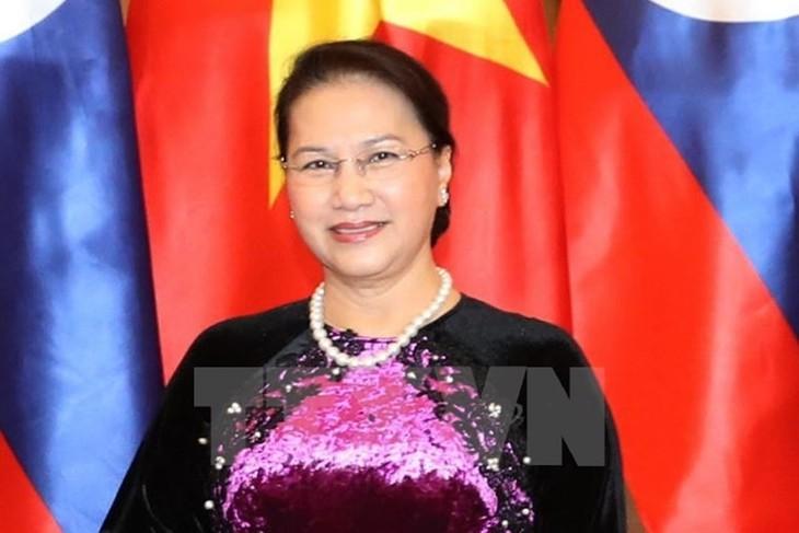 Ketua MN Vietnam, Nguyen Thi Kim Ngan mengakhiri dengan baik kunjungan resmi di Kerajaan Belanda - ảnh 1
