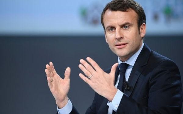 Presiden Perancis mencela AS yang menciptakan etnisme tentang ekonomi dan perdagangan - ảnh 1