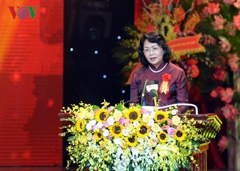 Acara peringatan ultah ke-70 Hari Presiden Ho Chi Minh mengeluarkan Seruan kompetisi patriotik - ảnh 2