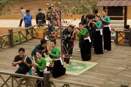 Kekhususan Pesta adat Pang a dari warga etnis minoritas La Ha - ảnh 1