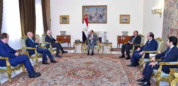 Mesir menegaskan terus berupaya untuk menghentikan krisis di Suriah - ảnh 1