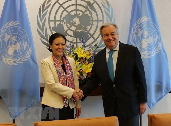 PBB menilai tinggi peranan aktif Vietnam di semua forum multilateral - ảnh 1