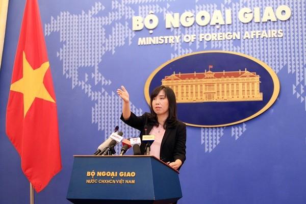 Vietnam memprotes semua aktivitas militer yang dilakukan Tiongkok di Pulau Phu Lam - ảnh 1