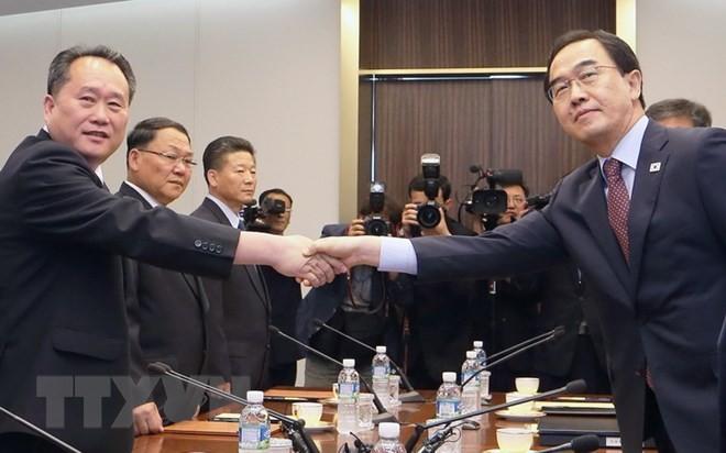 Dua bagian negeri Korea memulai perundingan tentang  kerjasama ekonomi  - ảnh 1