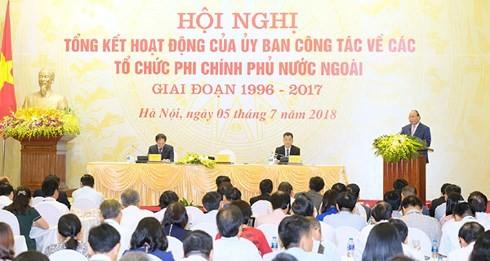 Pemerintah Viet Nam memacu dan menciptakan syarat yang kondusif kepada aktivitas lembaga swadaya masyarakat (LSM)  asing. - ảnh 1