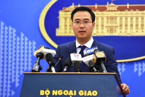 Kemlu Vietnam menyampaikan suara tentang pelanggaran terhadap kedaulatan Vietnam oleh Facebook - ảnh 1