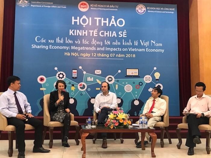 Vietnam perlu membuat kebijakan yang sesuai untuk memacu  ekonomi berbagi - ảnh 1