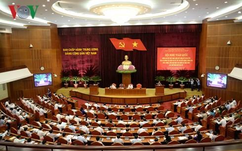 Konferensi  Nasional tentang  usaha terus memperhebat  pembangunan  dan pelaksanaan Status  Demokrasi di basis - ảnh 1