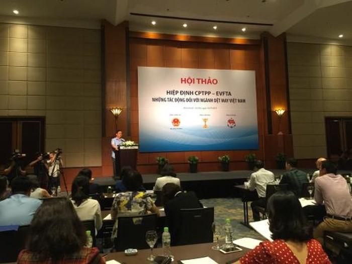 Perjanjian-perjanjian CPTPP dan EVFTA- Pengaruh-pengaruhnya terhadap cabang tekstil dan produk tekstil Vietnam - ảnh 1
