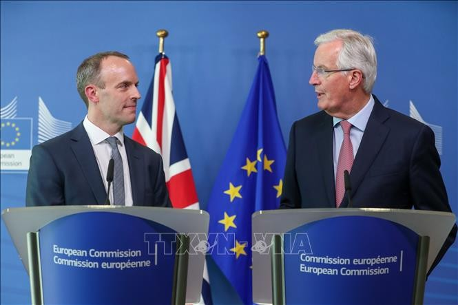 Inggris ingin memperhebat perundingan dengan Uni Eropa - ảnh 1