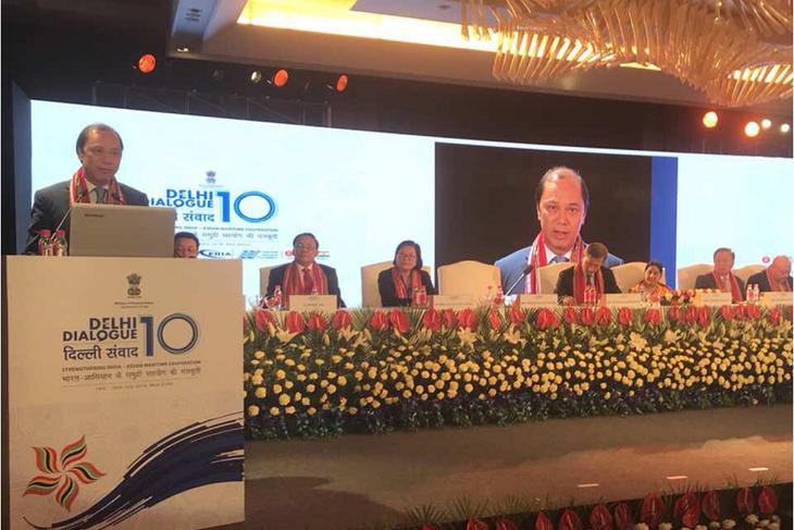 Vietnam menghadiri Dialog Delhi ke-10 di India - ảnh 1
