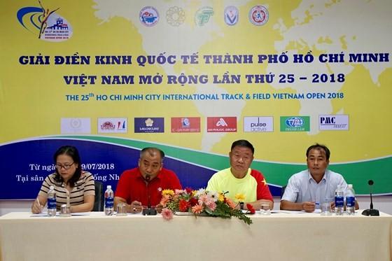 Hơn 500 vận động viên tham dự Giải điền kinh quốc tế TPHCM – Việt Nam mở rộng lần thứ 25-2018 - ảnh 1