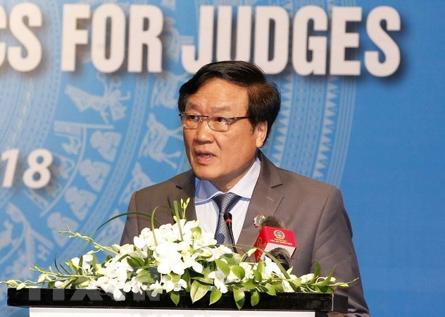 Vietnam dan Singapura memperkuat kerjasama di bidang pengadilan - ảnh 1