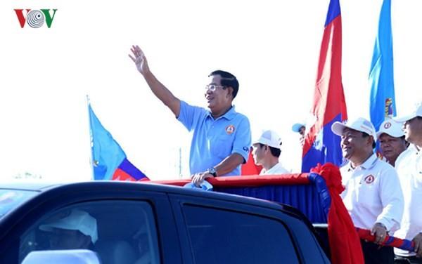 Kamboja : Mengakiri kampanye pemilu Parlemen - ảnh 1