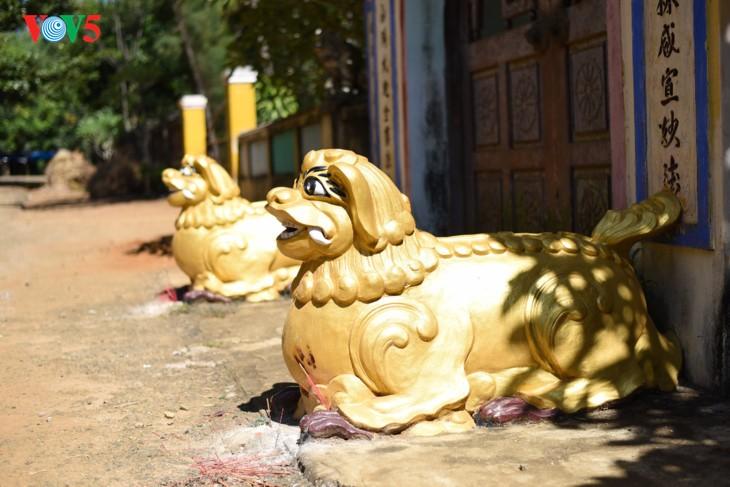 Mengunjungi pagoda Thien An pada musim melakukan pekerjaan yang baik - ảnh 2