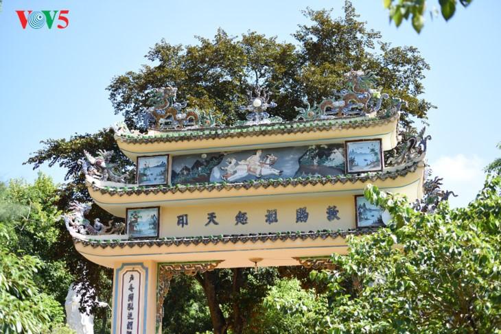 Mengunjungi pagoda Thien An pada musim melakukan pekerjaan yang baik - ảnh 6