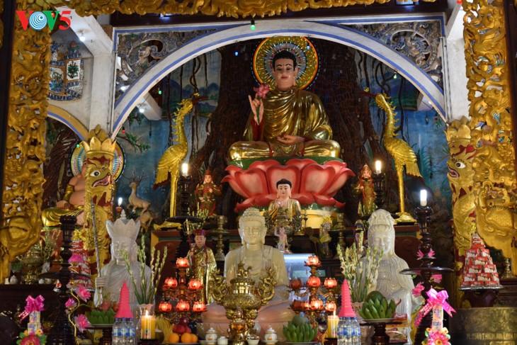 Mengunjungi pagoda Thien An pada musim melakukan pekerjaan yang baik - ảnh 7