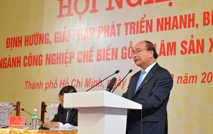 Cabang pengolahan kayu dan hasil kehutanan Vietnam harus menjadi cabang andalam dalam produksi  - ảnh 1