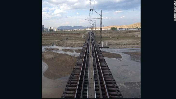 RDRK dan Republik Korea berbahas tentang kerjasama modernisasi jalan kereta api - ảnh 1