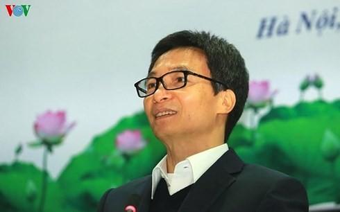 Deputi PM , Vu Duc Dam : Membarui Program pendidikan umum menurut arah terbuka - ảnh 1
