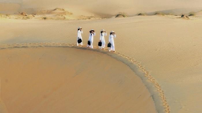 Memperkenalkan sepintas lintas tentang bukit pasir Mui Ne  - ảnh 1