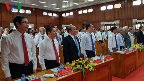 Deputi PM Truong Hoa Binh menghadiri peringatan ulah ke-70 kemenangan front pertempuran Moc Hoa - ảnh 1