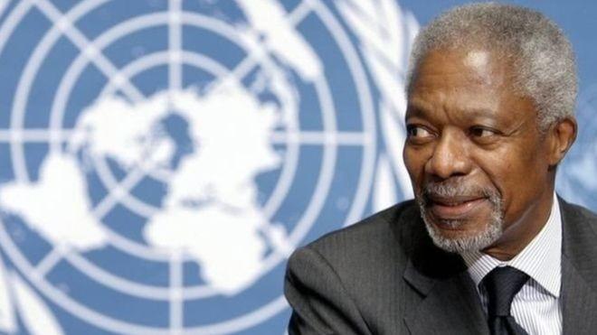Dunia internasional menyatakan rasa sayang atas wafatnya mantan Sekjen PBB Kofi Annan - ảnh 1
