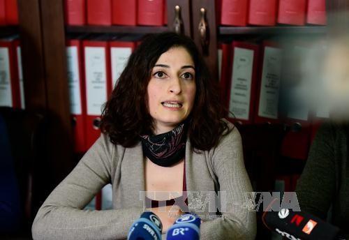 Wartawan wanita yang ditahan  di Turki telah kembali ke negeri-nya - ảnh 1