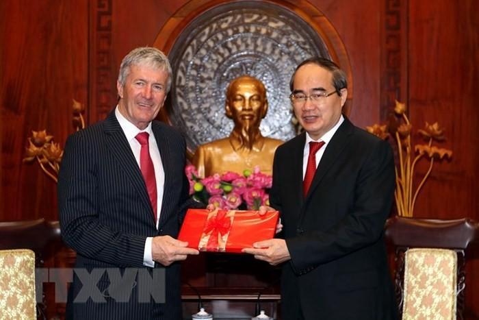 Kota Ho Chi Minh dan Selandia Baru memperkuat investasi, kerjasama perdagangan dan pertanian - ảnh 1