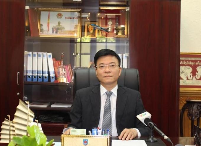 Menteri Hukum Vietnam, Le Thanh Long melakukan pertemuan dengan Menteri Hukum Federasi Rusia Konovalov Alexandr Vladimirovich - ảnh 1