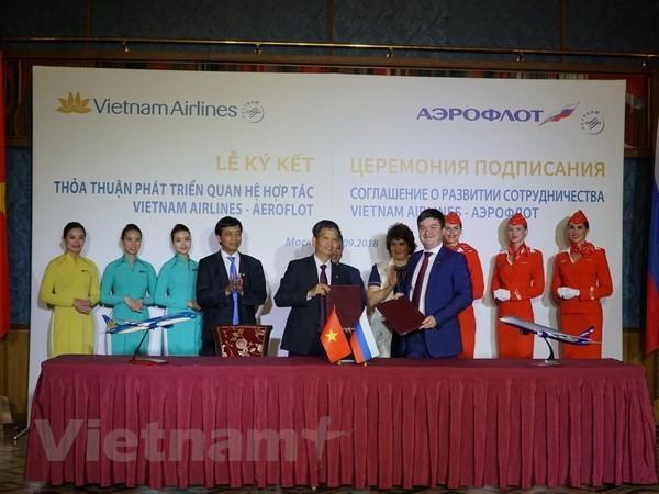 Memperingati ultah ke-25 jalan penerbangan Vietnam-Federasi Rusia - ảnh 1