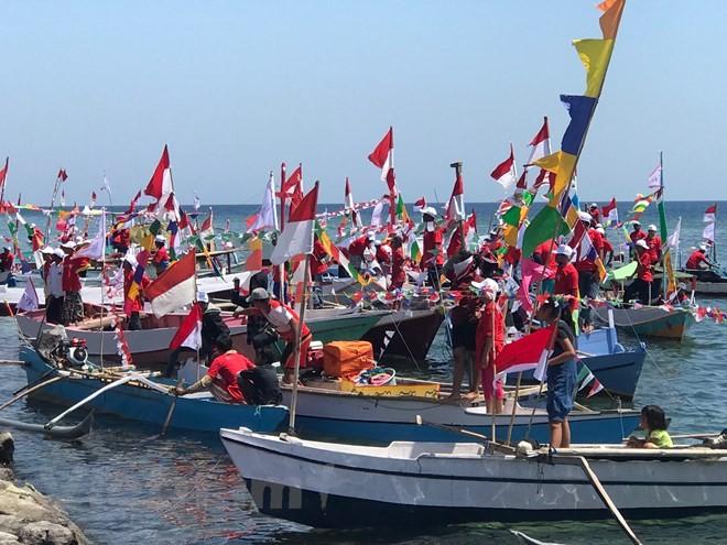 Lomba perahu berlayar internasional mendorong perkembangan ekonomi maritim di Indonesia - ảnh 1