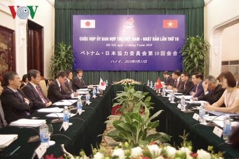 Sidang ke- 10 Komisi Kerjasama Vietnam-Jepang - ảnh 1