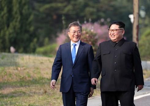 Pertemuan puncak antar-Korea 2018: Denuklirisasi  menjadi isi utama - ảnh 1