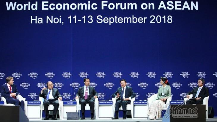 WEF ASEAN 2018 dan selar Vietnam - ảnh 1