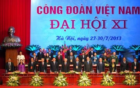 Pembukaan Kongres Serikat Buruh Vietnam yang ke-12 - ảnh 1