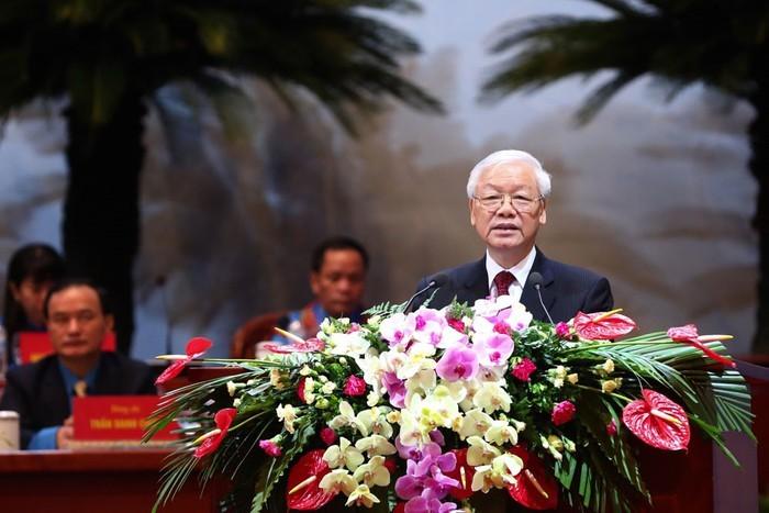 Kongres ke-12 Seribat Buruh Vietnam masa bakti 2018-2023 dibuka - ảnh 1