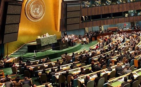 PBB terus menegaskan peranannya pada latar internasional yang baru - ảnh 1