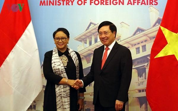 Peluang baru bagi badan-baan usaha Vietnam dan Indonesia melakukan kerjasama dan investasi - ảnh 1