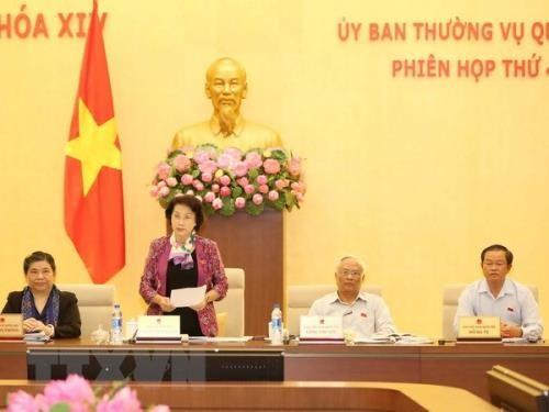 Pembukaan persidangan ke-28 Komite Tetap MN angkatan XIV - ảnh 1