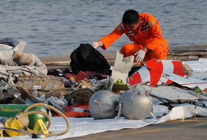 Pekerjaan pencarian dan pertolongan para korban kecelakaan pesawat terbang JT 610 jatuh di laut - ảnh 10
