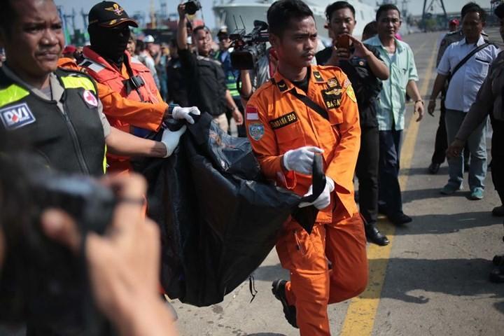 Pekerjaan pencarian dan pertolongan para korban kecelakaan pesawat terbang JT 610 jatuh di laut - ảnh 2
