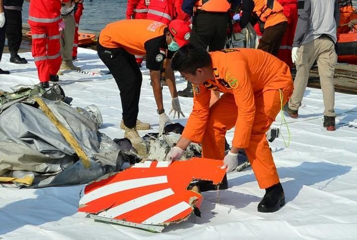 Pekerjaan pencarian dan pertolongan para korban kecelakaan pesawat terbang JT 610 jatuh di laut - ảnh 7