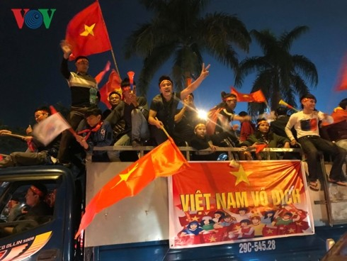 Vietnam Jadi Juara Piala AFF 2018 - ảnh 10
