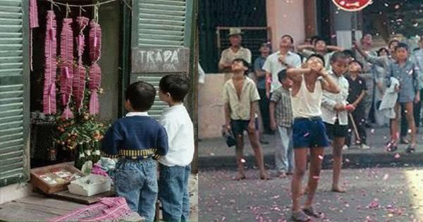 Apakah Vietnam membakar petasan pada Hari Raya Tahun Baru Imlek? - ảnh 3