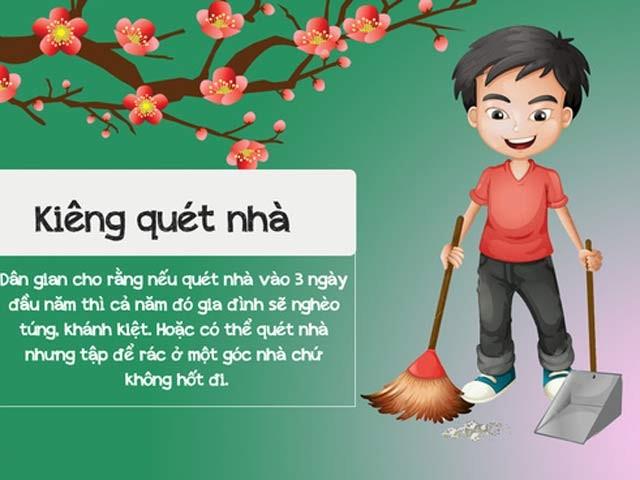 Hal-hal tabu yang tidak boleh dilakukan pada Hari raya tahun baru tradisional imlek dari orang Vietnam  - ảnh 1