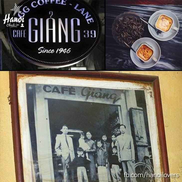 Iktisar surat pendengar dan perkenalan tentang kopi telur Giang di Kota Hanoi - ảnh 1