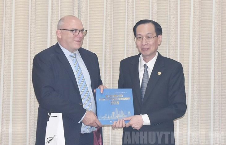 Kota Ho Chi Minh dan Selandia Baru memperkuat kerjasama di bidang pendidikan - ảnh 1